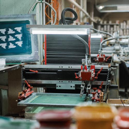 Оборудование для полуавтоматической печати